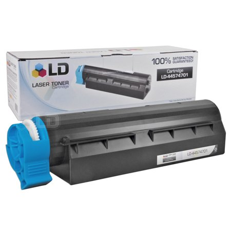 LD Compatible Okidata Oki 44574701 Black Laser Toner Cartridge for use in the MB461 MFP, MB471, MB471W, B411d, B411dn,