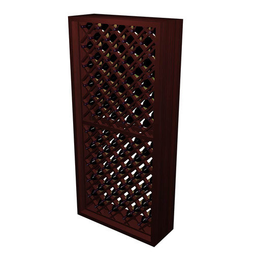 Wine Cellar Innovations Designer Series 90 Bottle Individual Diamond Bin Wine Rack