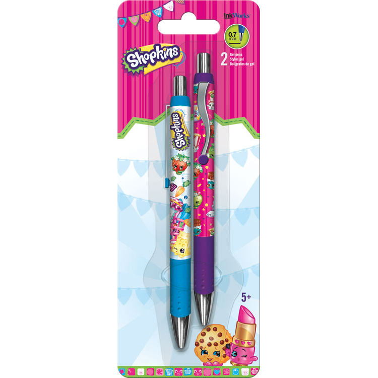 Shopkins Gel Pens (2 Pack) - Party Supplies