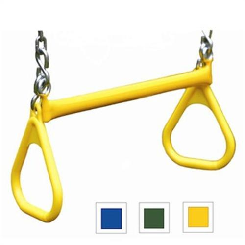 Gorilla Playsets 04-0005-Y/Y Deluxe Trapeze Bars - Yellow