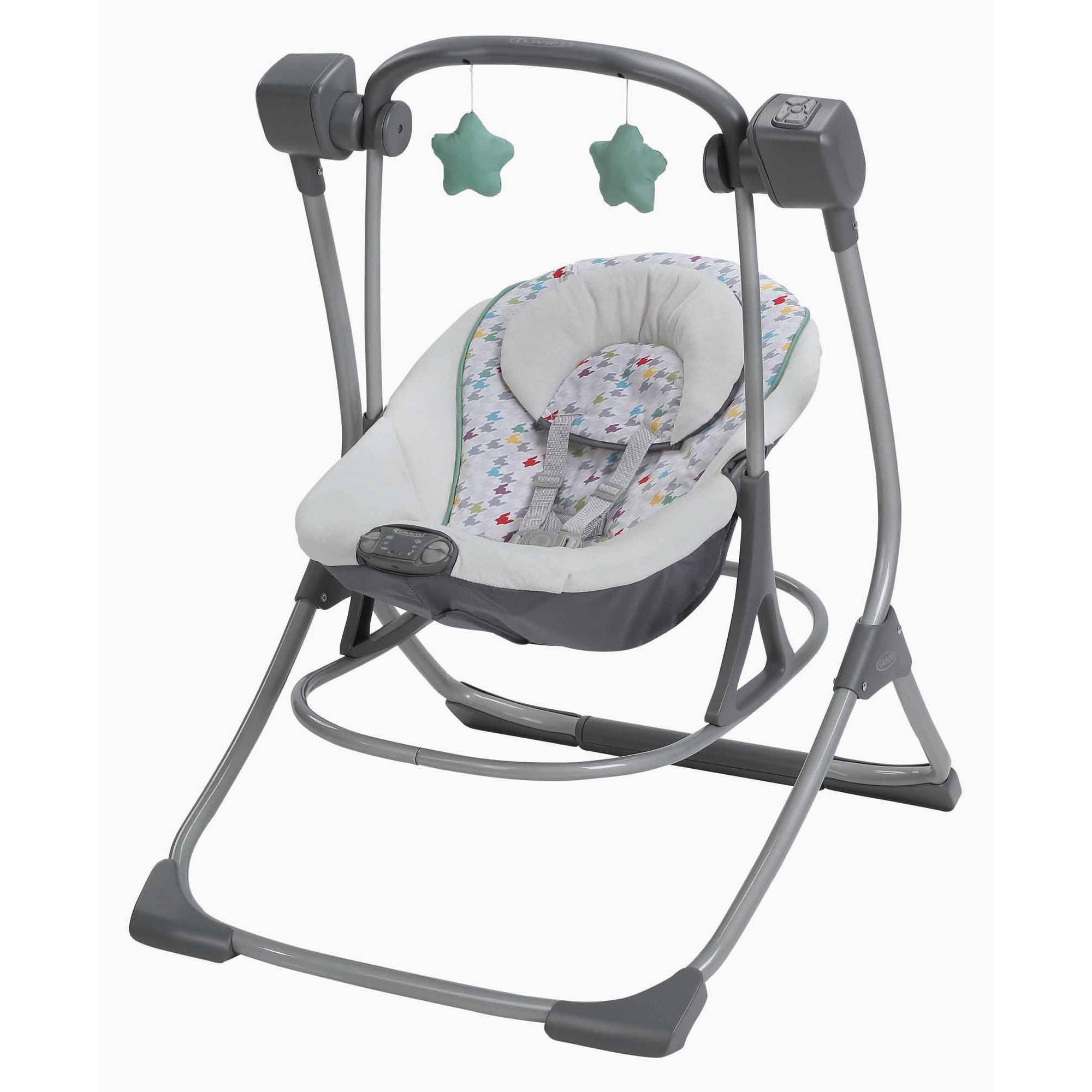 Graco Cozy Duet Baby Swing and Rocker, Lambert