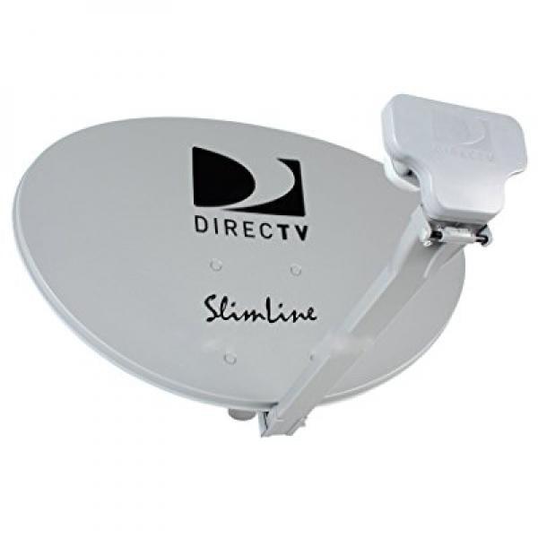 4 KIT SWM DIRECTV KA KU HD SL3 SLIMLINE MPEG4 3 LNBF COMPLETE DISH ANTENNAS W POWER SUPPLY 4 4WAY SPLITTERS by DirecTV
