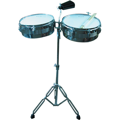 GP Percussion Timbale Drum Set