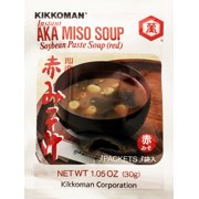 Kikkoman Instant AKA Miso Soup, 1.05 oz, (Pack of 12)