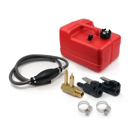 Five Oceans 3 Gallon Marine Fuel Tank/Portable Kit Mercury (1998 and up) 3/8