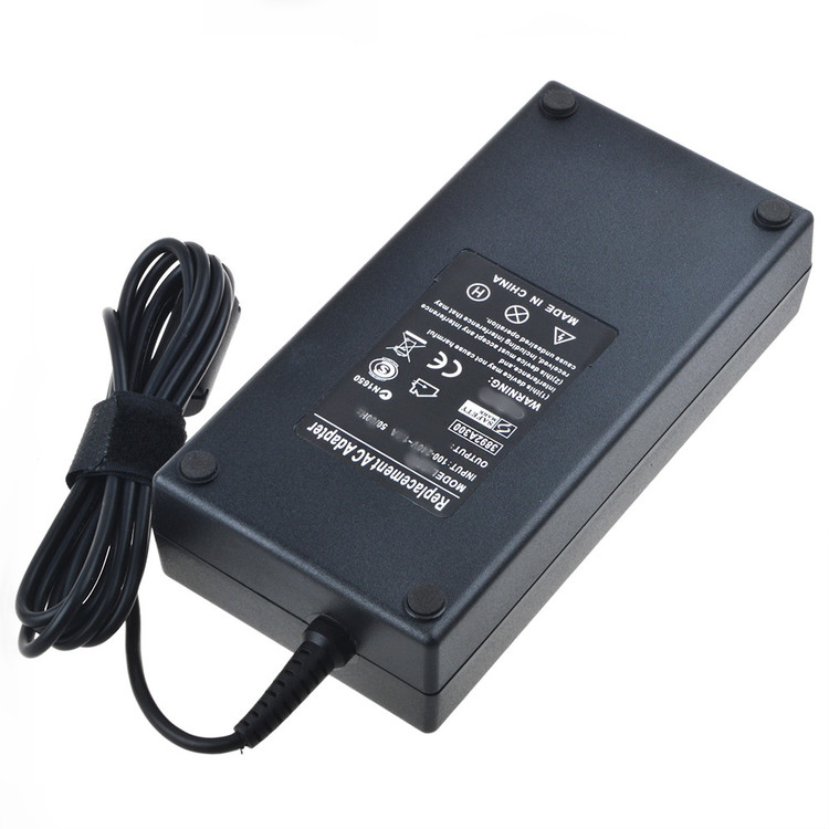 ABLEGRID 19.5V 7.7A 150W AC / DC Adapter For Dell Precision Alienware Laptop Desktop M14x-R2 H7HKYW1 M14x P18G P18G001 P18G002 19.5VDC 19.5 Volts 7.7 Amps 150 Watts Power Supply Cord