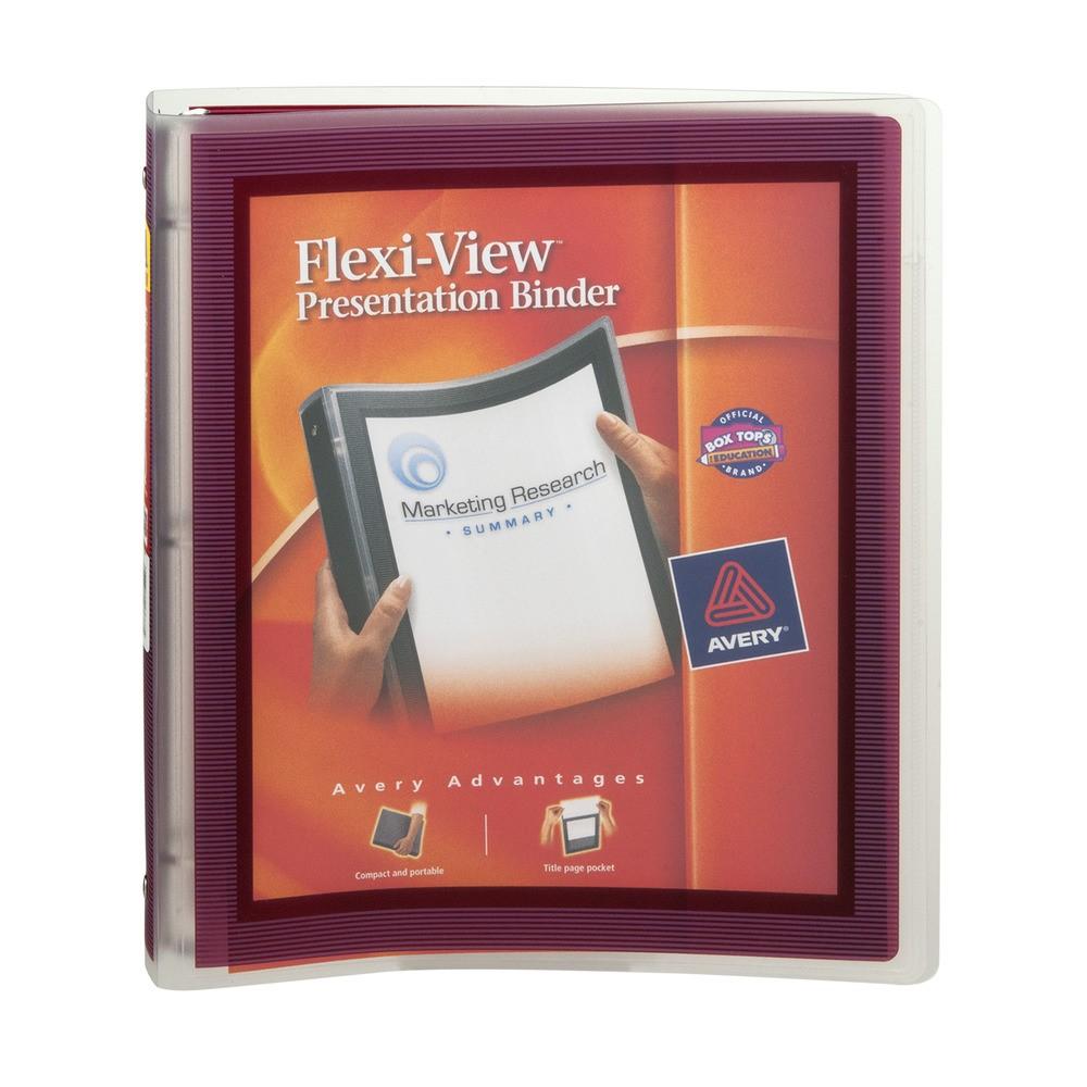 Avery Flexi-View Presentation Binder, 1.0 CT
