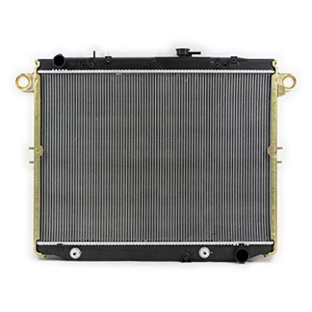 Radiator - Pacific Best Inc For/Fit 2282 98-02 Lexus LX 470 98-02 Toyota Land Cruiser PTAC 2 Row