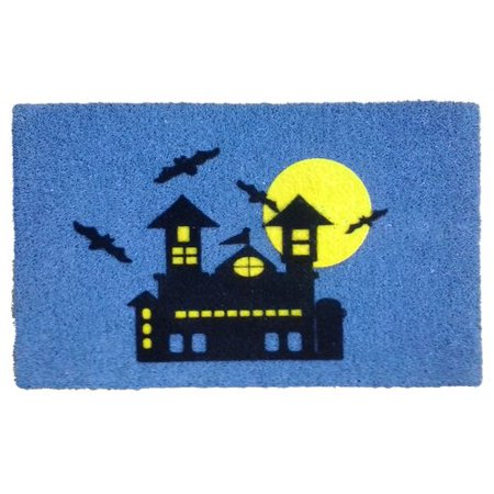 Haunted House Door (Imports Decor Haunted House Doormat)