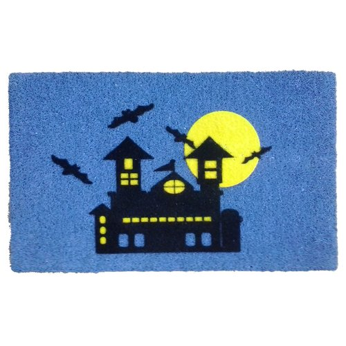 Imports Decor Haunted House Doormat