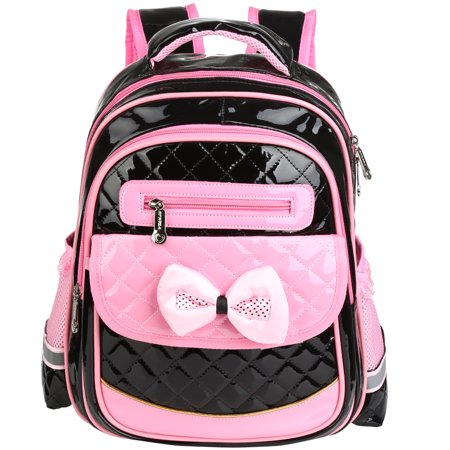 1535e3333e Girls School Backpack Adorable Student Shoulders Bag Stylish PU Leather  School Bag Casual Outdoor Daypack for