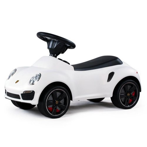 Best Ride on Cars Porsche 911 Turbo Push Car - White