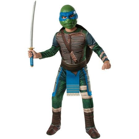 Teenage Mutant Ninja Turtles Movie Men's Leonardo Costume One Size Fits (Best 80's Costumes Pictures)
