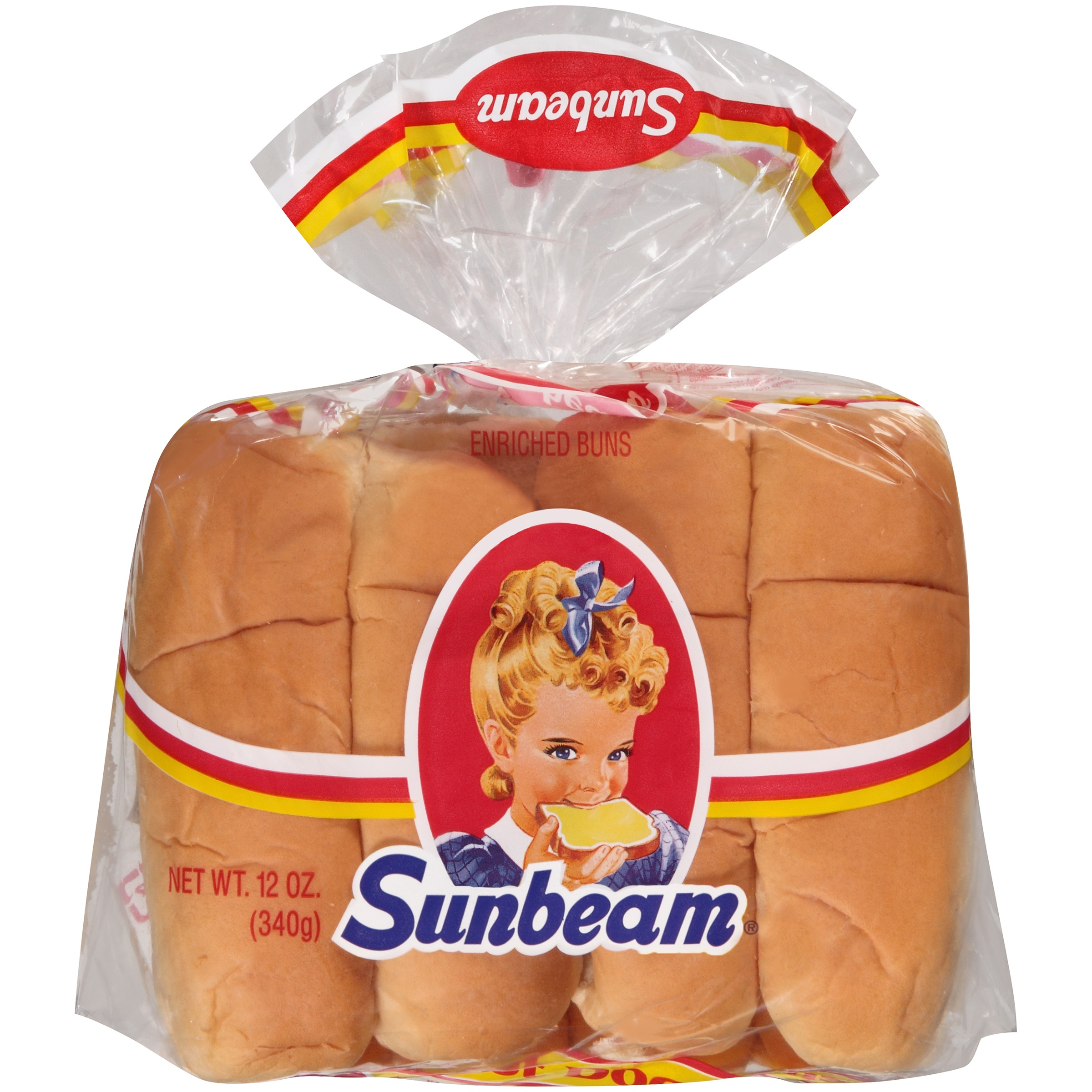 Sunbeam® Hot Dog Buns 8 ct Bag