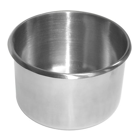 Cup Holder Dimensions - Jumbo Stainless Steel Cup Holder