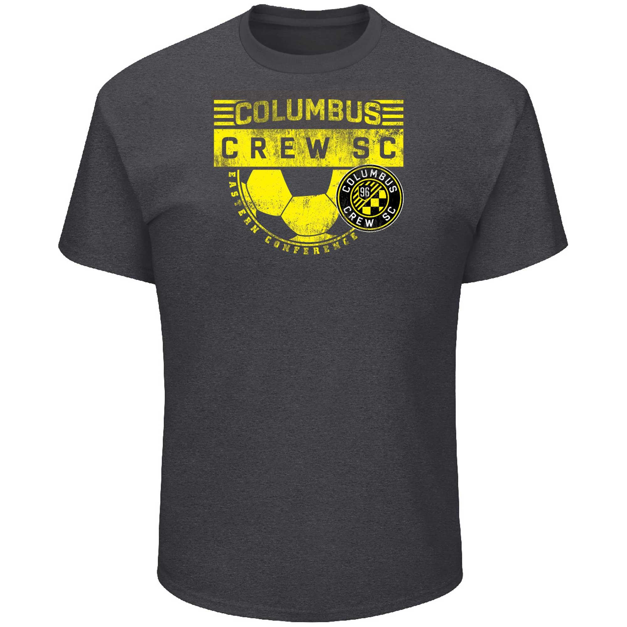 Columbus Crew SC Majestic Big & Tall Every Minute T-Shirt - Charcoal