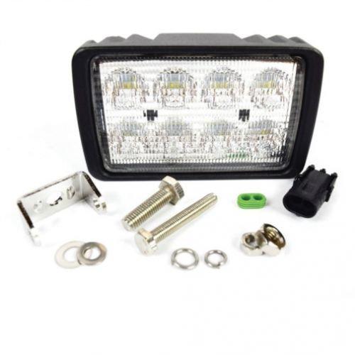LED Work Light - Side Mount, Flood Beam, Case IH, 92266C1, Massey Ferguson, 3900811M91, 3781544M1