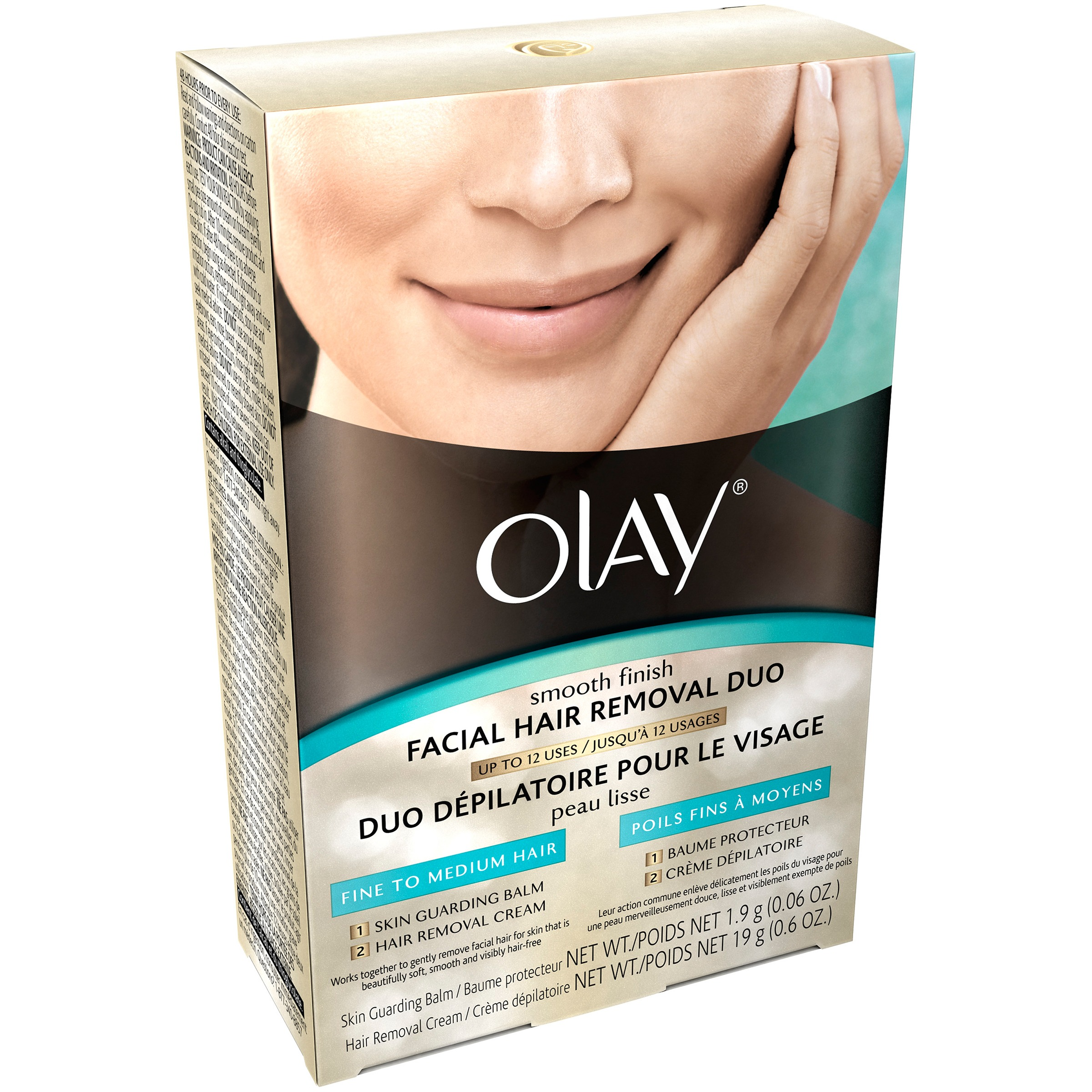 Super Olay Smooth Finish Facial Hair Removal Duo Fine To Medium Hair Short Hairstyles For Black Women Fulllsitofus