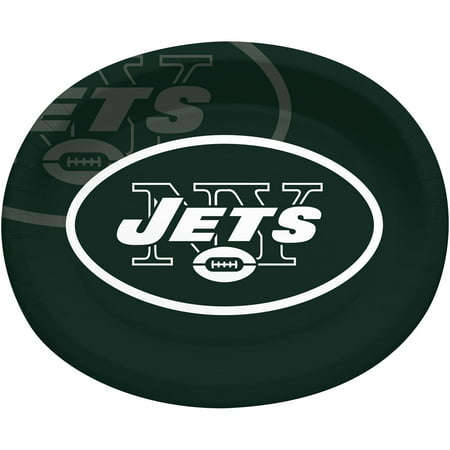 New York Jets Tire Cover (New York Jets Oval Platters,)