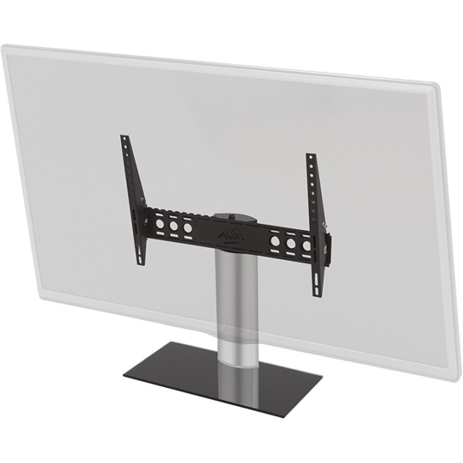 AVF / Universal Table Top TV Stand // TV Base Black Adjustable Tilt and Turn Fits Most 46 to 65-Inch TVs