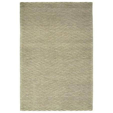 Kaleen Textura Rug In Green - (2 Foot 6 Inch x 8