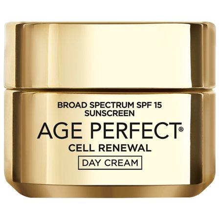 L'Oreal Paris Age Perfect Cell Renewal* Day Cream SPF 15, 1.7 oz.