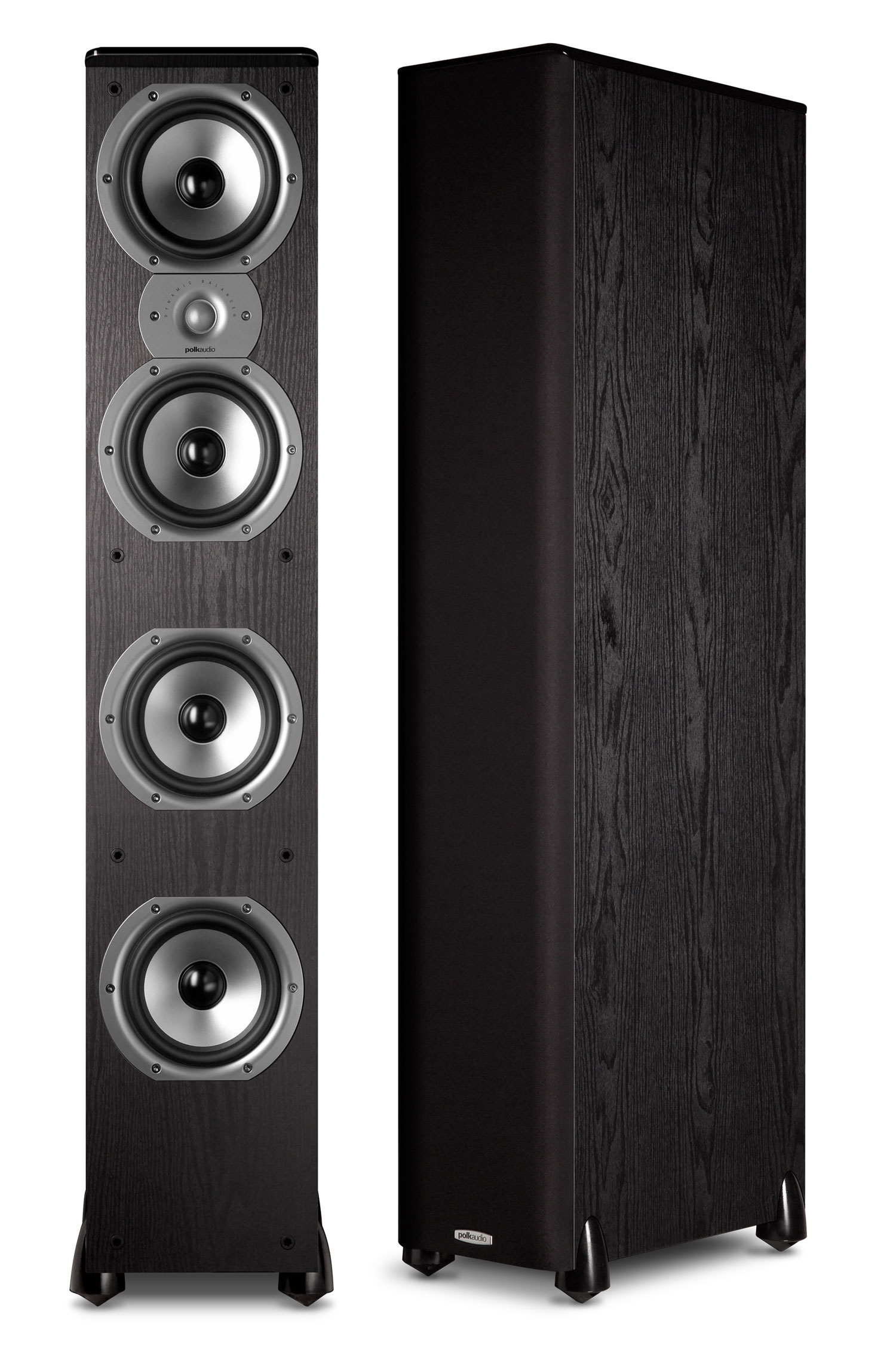 Polk Audio TSi500 Floorstanding Speakers in Black (Pair) by Polk Audio