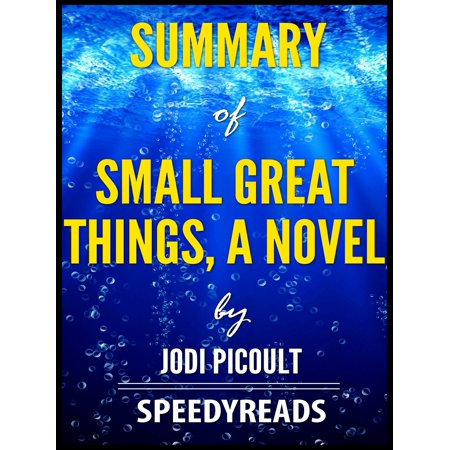 Summary of Small Great Things, A Novel by Jodi Picoult -