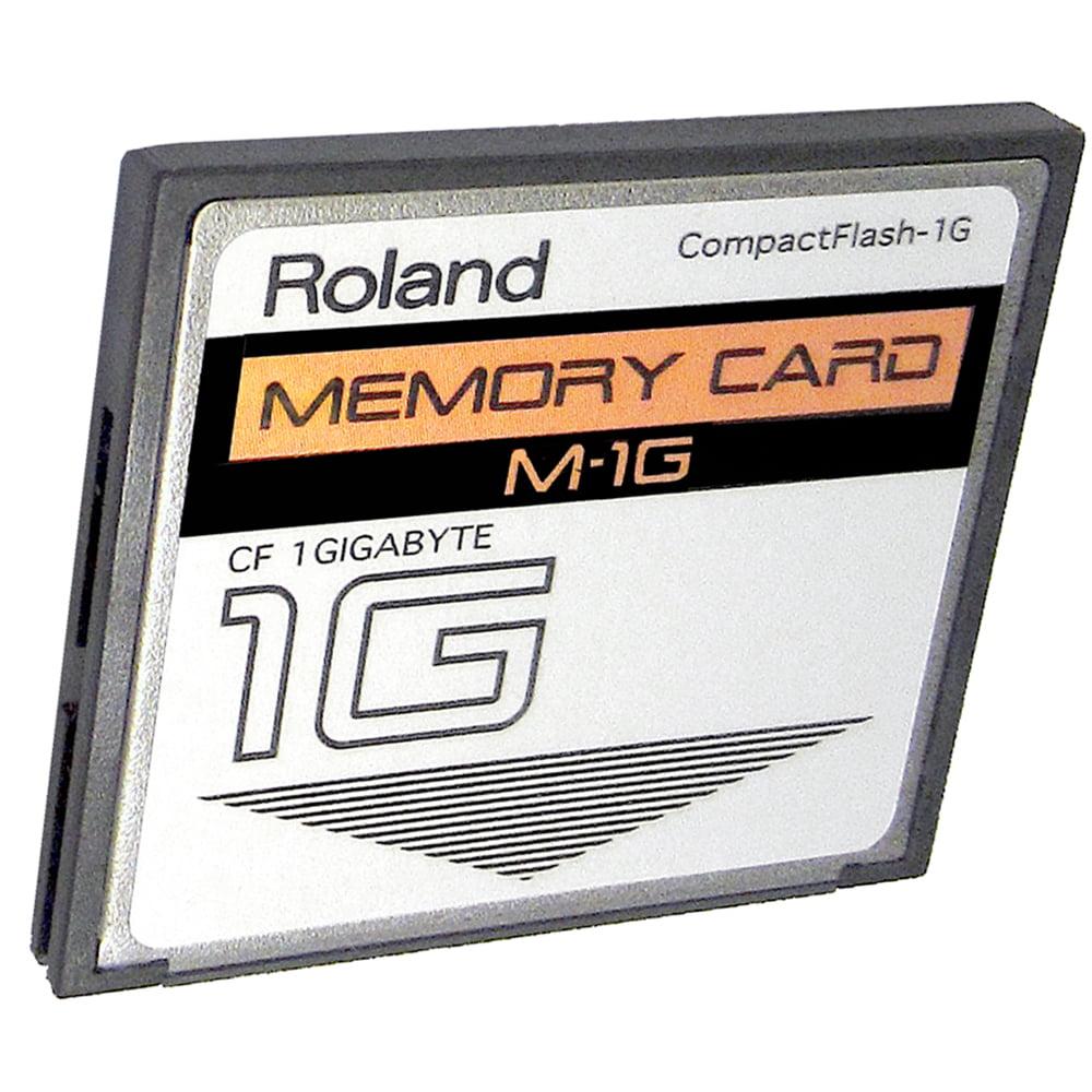New 1GB Roland M-1G CompactFlash CF Memory Card for MC-808 SP-555 V.. SP-404