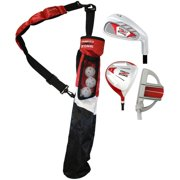 MOG 3-Piece Red Zone Jr Right Hand Tube Golf Set, Ages 8 to 11