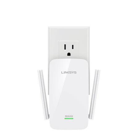 Linksys RE6400 Dual-Band Wi-Fi Range Extender (AC1200