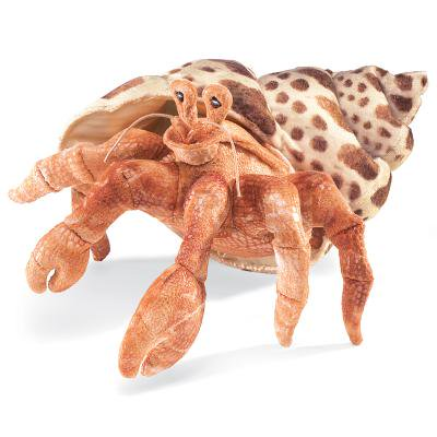 Hermit Crab Hand Puppet by Folkmanis - 2867