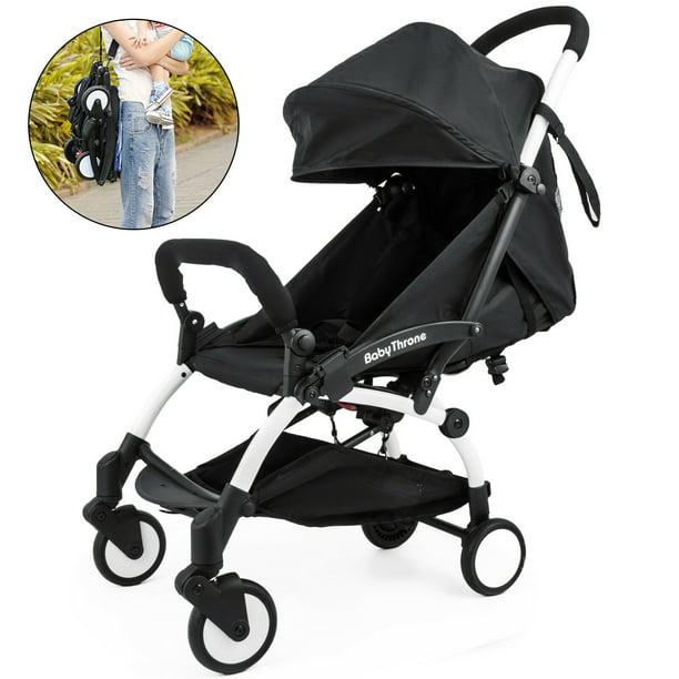 VEVOR Mini Folding Baby Stroller 2 in 1 Lightweight Travel ...