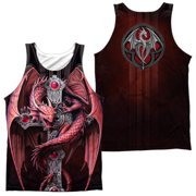 Anne Stokes - Gothic Guardian (Front/Back Print) - Tank Top - XX-Large