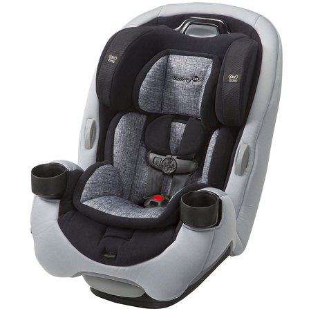 Safety 1st Grow And Go Ex Air 3 In 1 Baby Convertible Car Seat Lithograph Gray