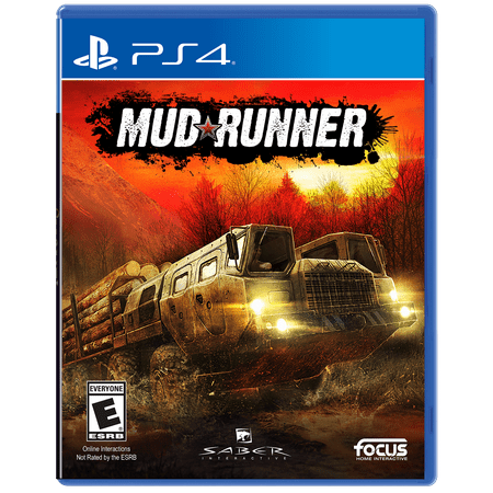 MudRunner, Maximum Games, PlayStation 4, 854952003929