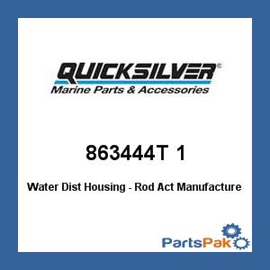 (Mercury - Mercruiser 863444T 1 Mercury Quicksilver 863444T 1 Water Dist Housing - Rod Act-)
