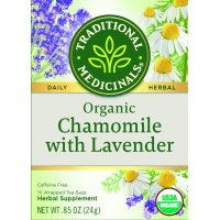 Traditional Medicinals, Organic Chamomile With Lavendar, Tea Bags, 16 Ct
