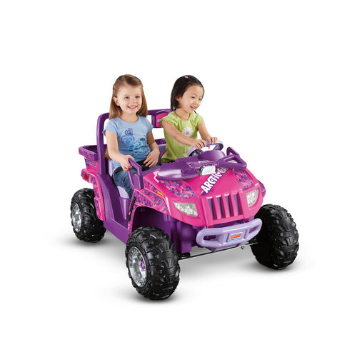 Fisher-Price Power Wheels Arctic Cat 12-Volt Battery-Powered Ride-On, Purple