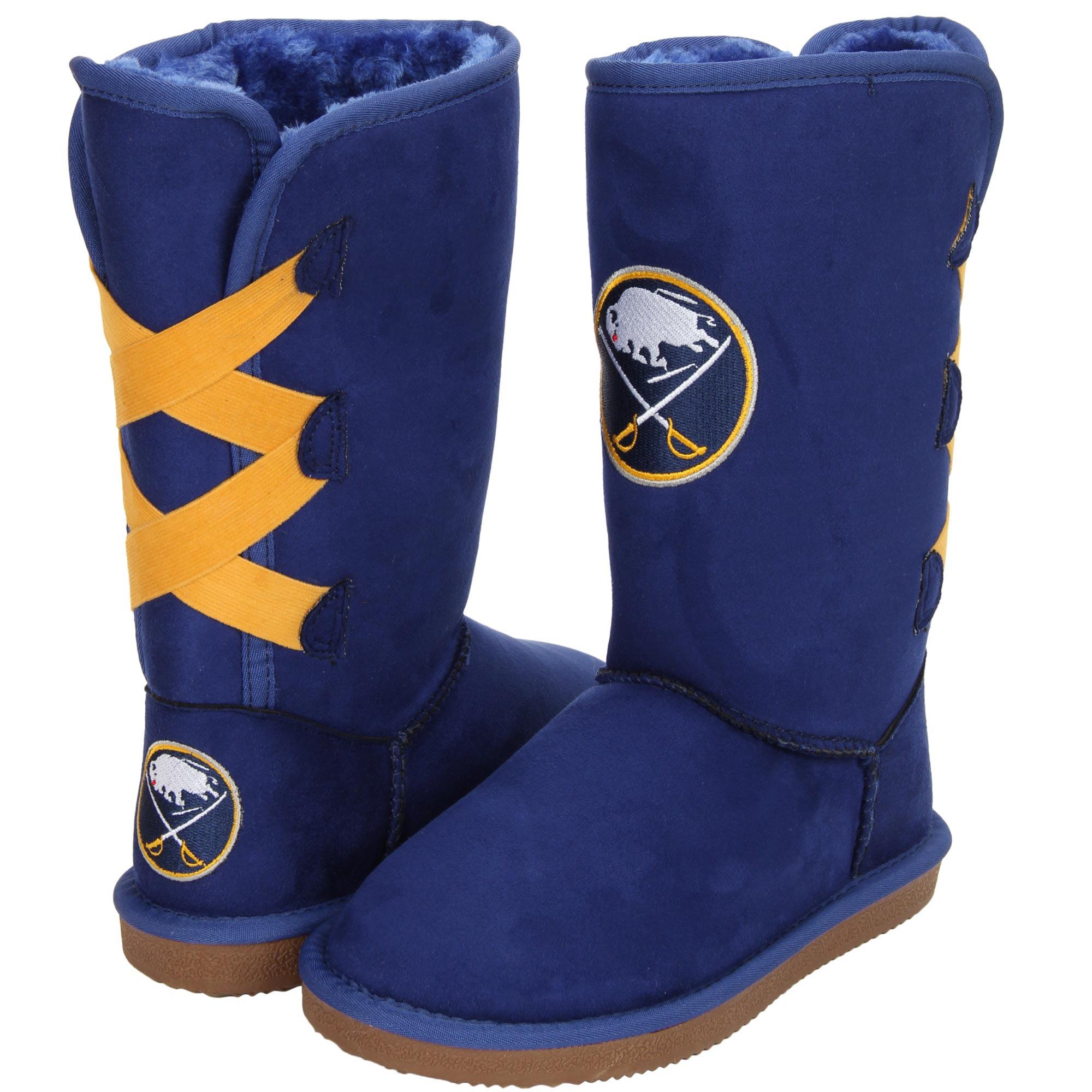 Women's Cuce Buffalo Sabres Conqueror Boots by Cuce Shoes
