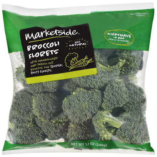 Marketside Broccoli Florets, 12 oz