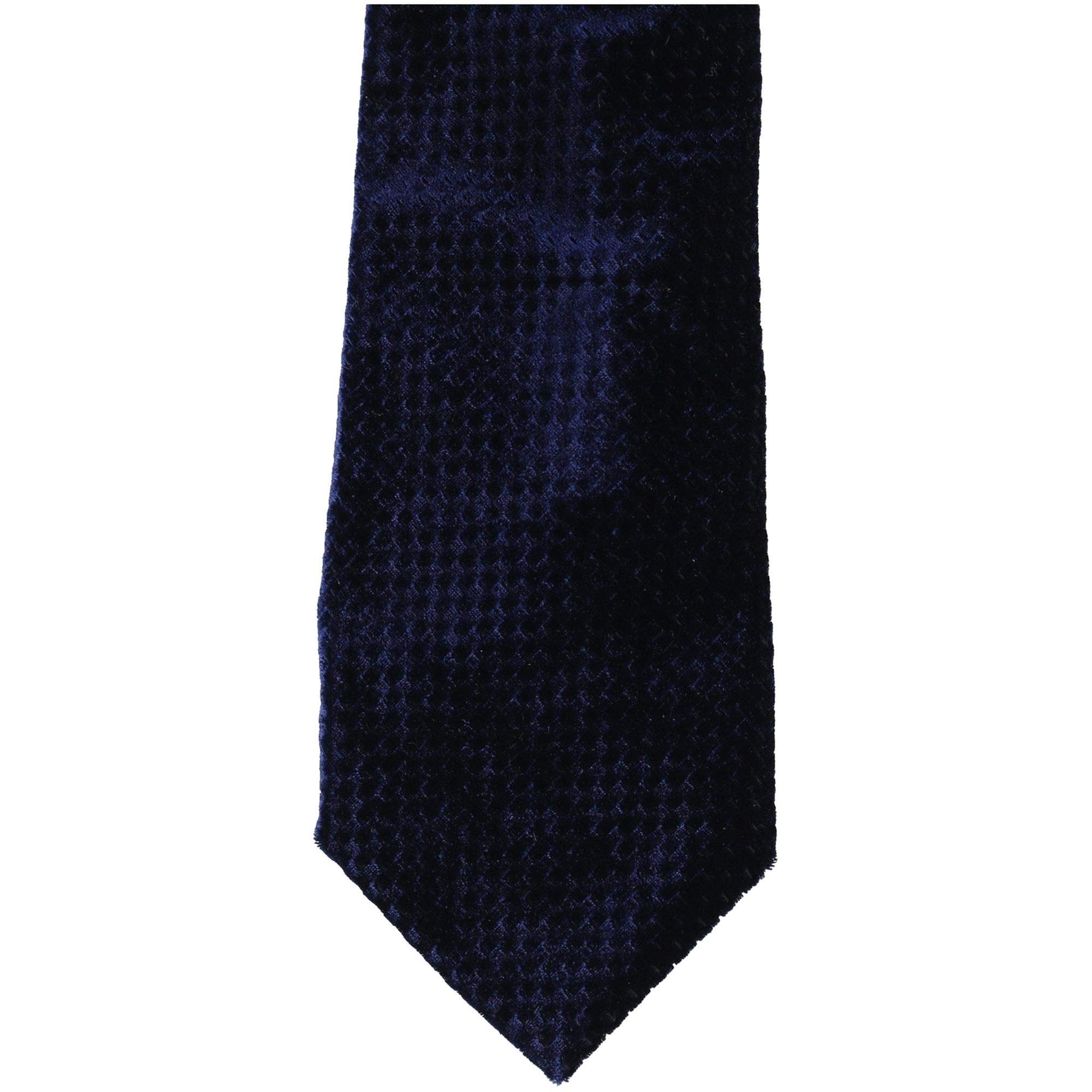 Sean John Mens Herringbone Self-tied Bow Tie