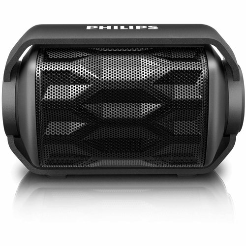 Philips Shoqbox Mini Waterproof Bluetooth Wireless Portable Speaker