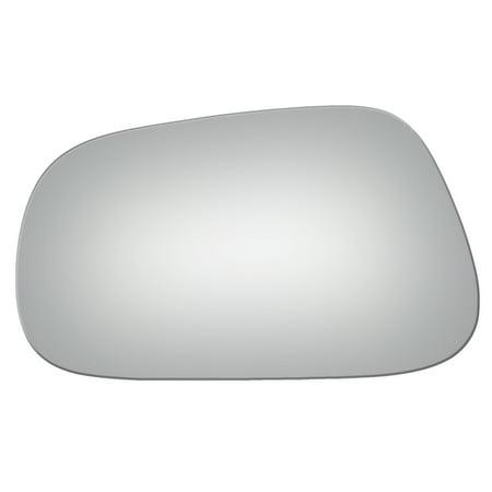 Geo Tracker Manual Mirror (Burco 2546 Left Side Manual Mirror Glass for Geo Prizm, Toyota Corolla )