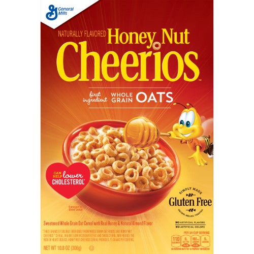 Honey Nut Cheerios, Gluten Free (Pack of 2)