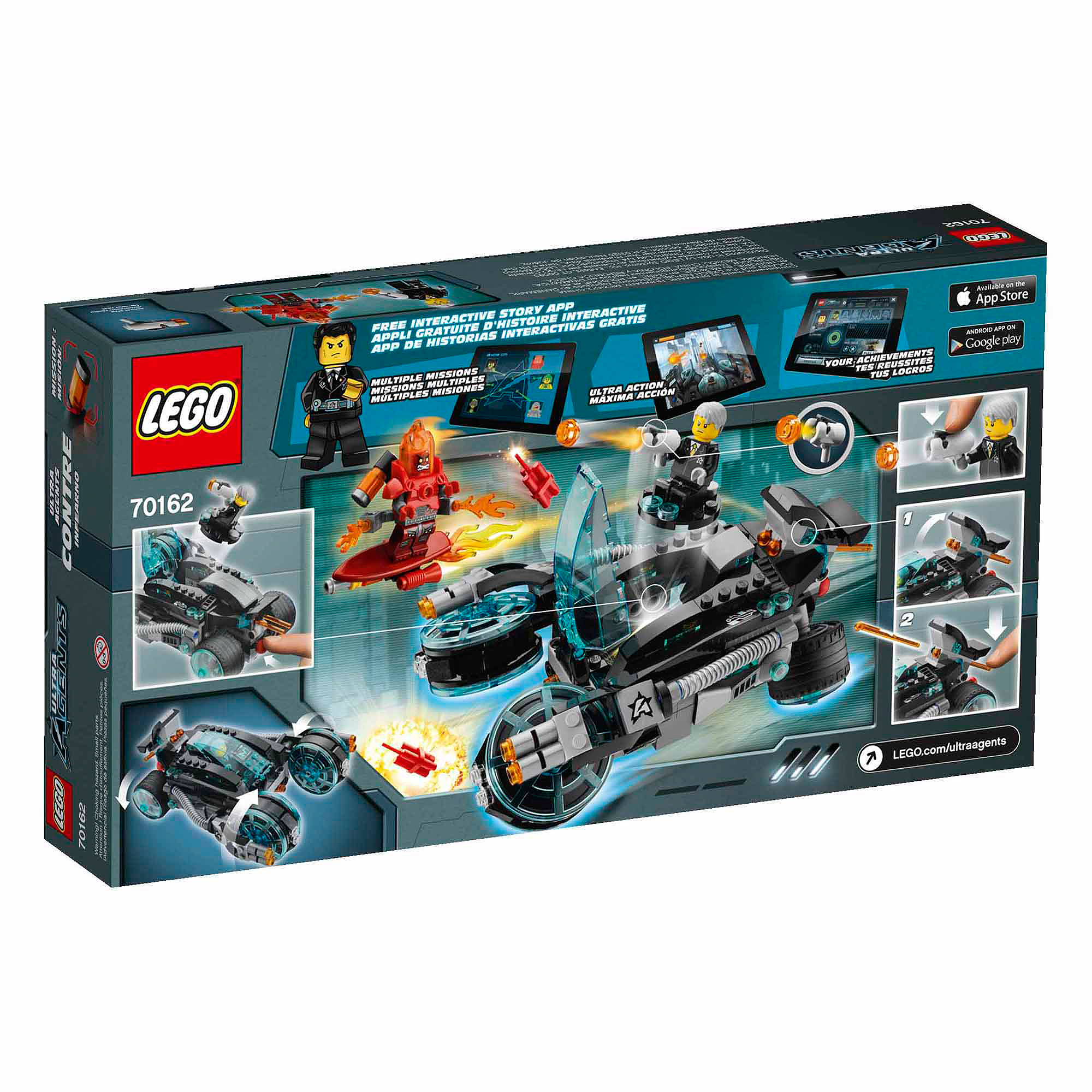 LEGO Agents 70162 Infearno Interception