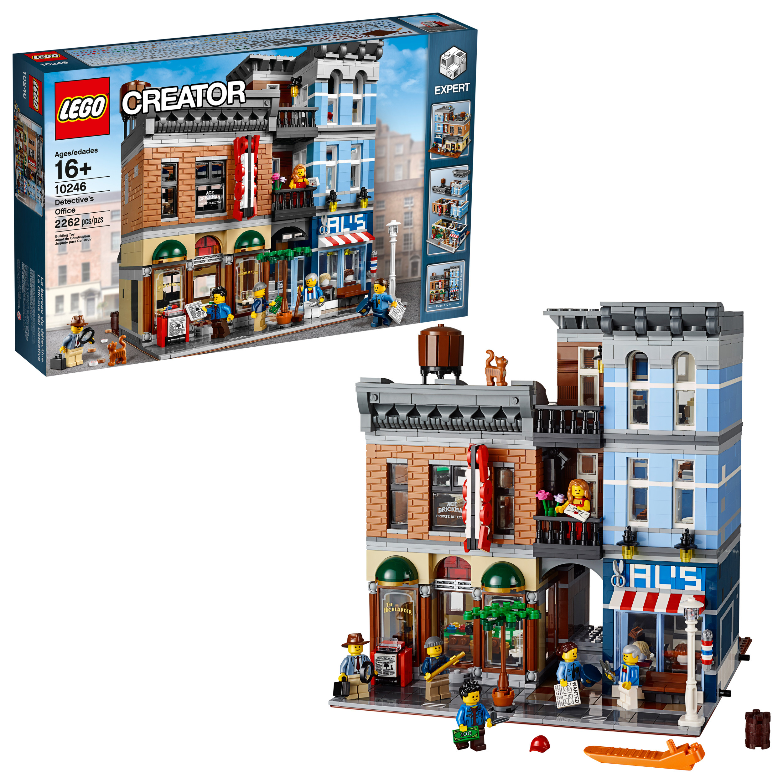 LEGO Creator Expert Detective's Office 10246 - Walmart.com