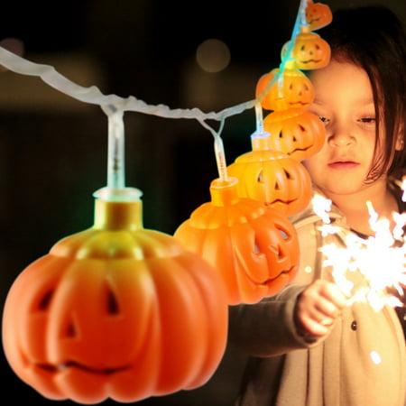 LED Halloween Creative DIY Pumpkin Decoration Atmosphere Lamp (Halloween Room Decorations Diy)