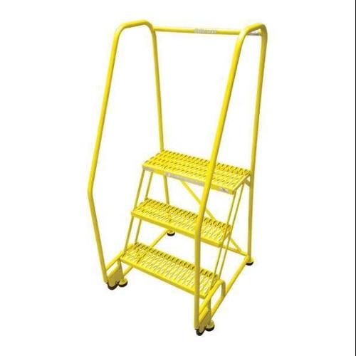 COTTERMAN 3STR26A6E20B8C2P6 Tilt and Roll Ldr,Steel,60In. H.,Yellow G0995587