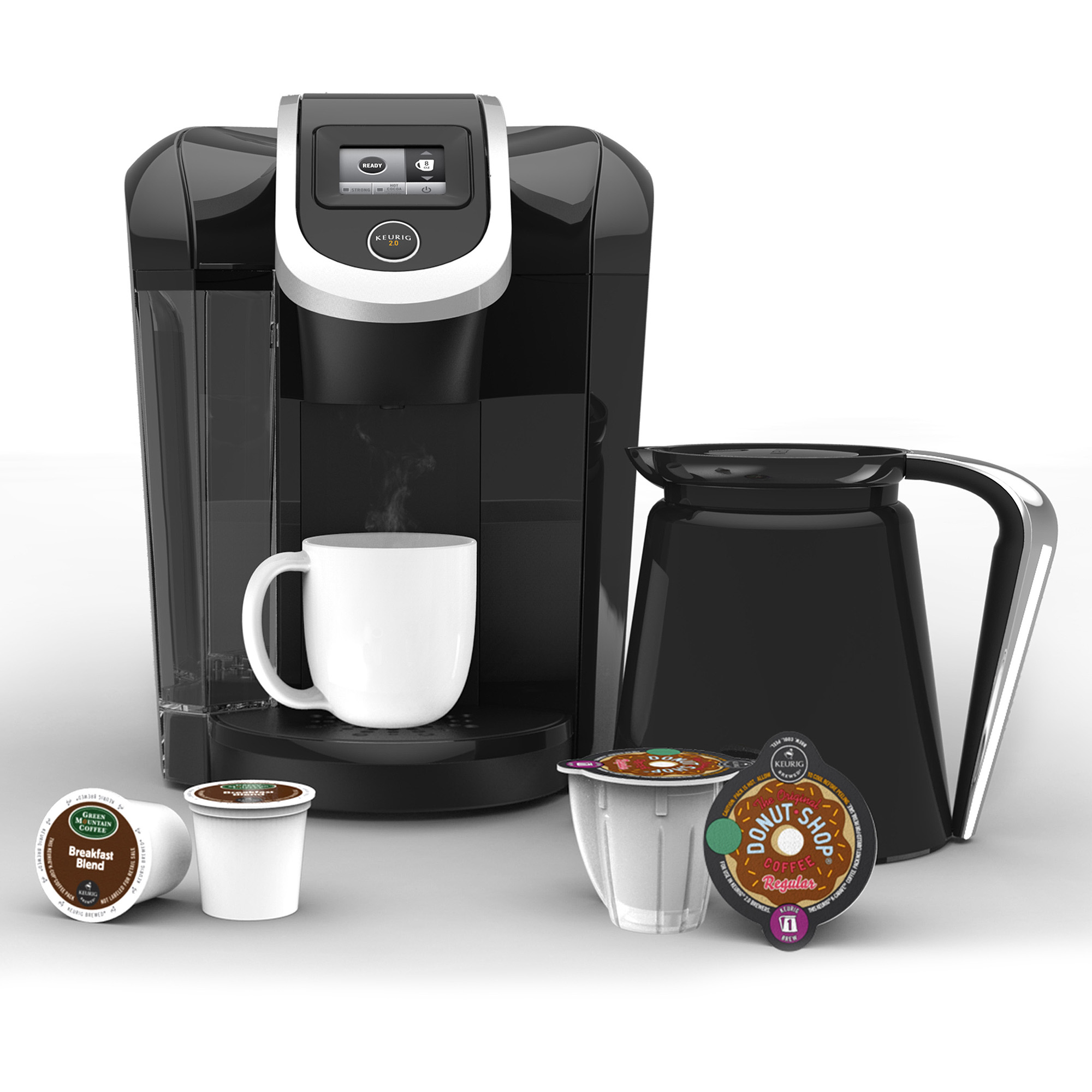 Keurig 2.0 K300 Coffee Brewing System with Carafe, Black